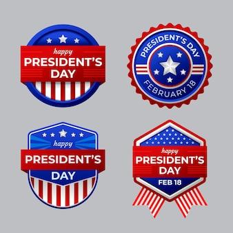President's day badge-collectie