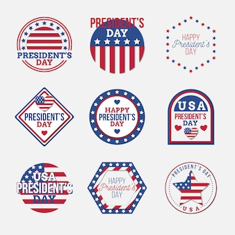 President's day badge-collectie