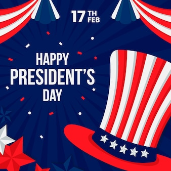 President's day in plat ontwerp