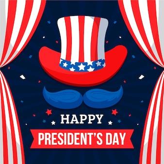 President's day in plat ontwerp