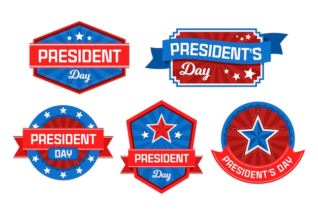 President's day label-collectie