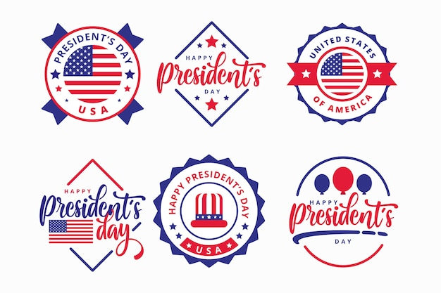 President's day labelcollectie