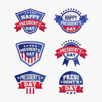 President's day labels-collectie