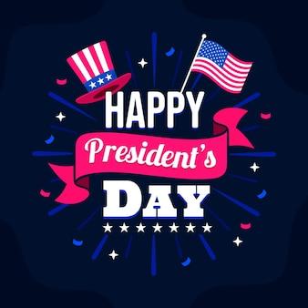 Presidenten dag belettering