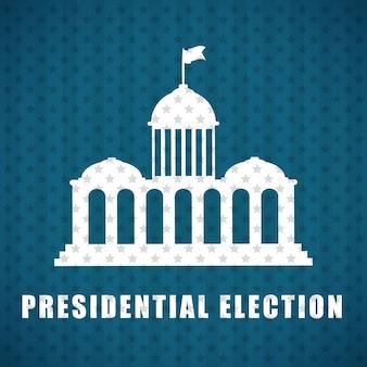 Presidenten dag concept met pictogram ontwerp, illustratie 10 eps-vectorafbeelding - vector van djv