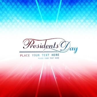 Presidenten dag glanzende achtergrond