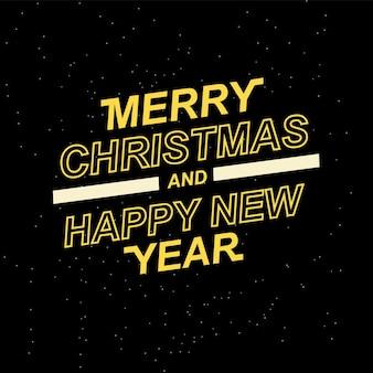 Prettige kerstdagen en een gelukkig nieuwjaar voor uw seizoensfolders en wenskaarten of kerstthema...