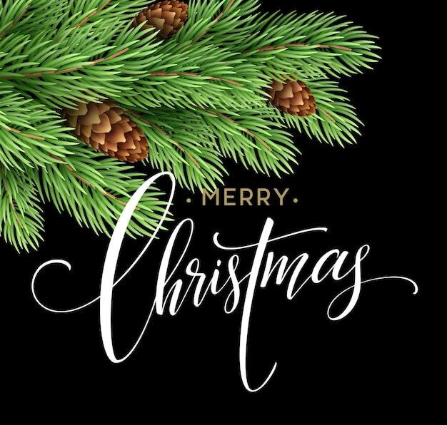 Prettige kerstdagen en gelukkig nieuwjaar 2017 wenskaart, vectorillustratie eps10