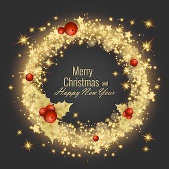 Prettige kerstdagen en gelukkig nieuwjaar 2022 wenskaart