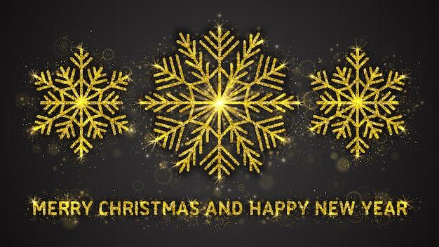 Prettige kerstdagen en gelukkig nieuwjaar illustratie