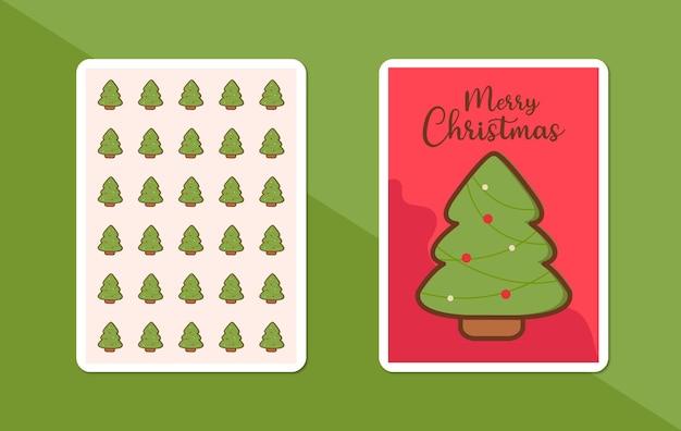 Prettige kerstdagen en gelukkig nieuwjaar met de kerstman gratis vector