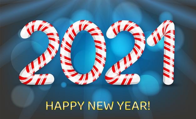 Prettige kerstdagen en gelukkig nieuwjaar met in rode en witte swirl candy stijl.