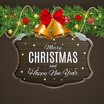 Prettige kerstdagen en gelukkig nieuwjaar posters.
