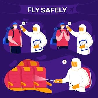 Preventieve maatregelen van de luchthaven