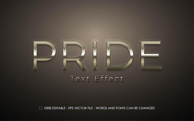 Pride bewerkbaar teksteffect