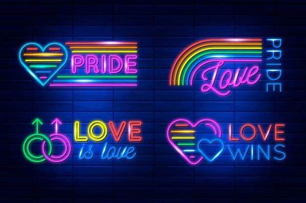 Pride day neonreclames