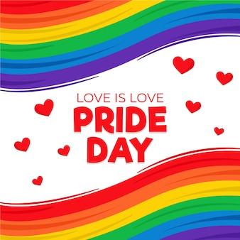 Pride day vlag ontwerp
