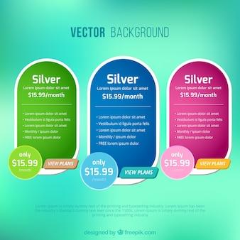 Prijs stickers voor web