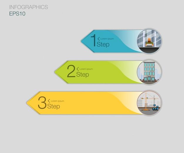 Prijslijst. drie tarievenbanners. web prijstabel. voor web-app.