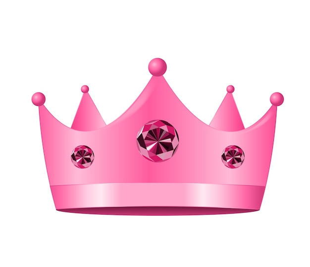 Princess crown pictogram. illustratie.