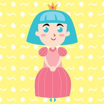 Princess pin-up poster en boekomslag design-serie