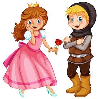 Prinses en ridder