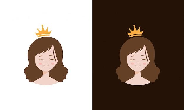 Prinses illustratie