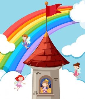 Prinses in het kasteel