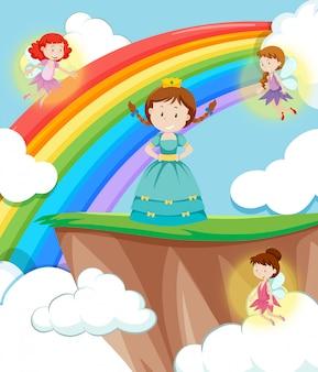 Prinses met feeënscène