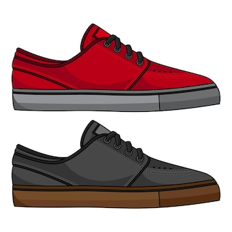 Printskateboard schoenen