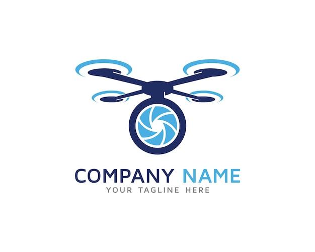 Pro drone logo design