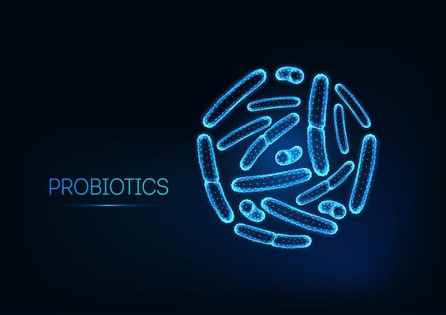 Probiotica onder microscoop