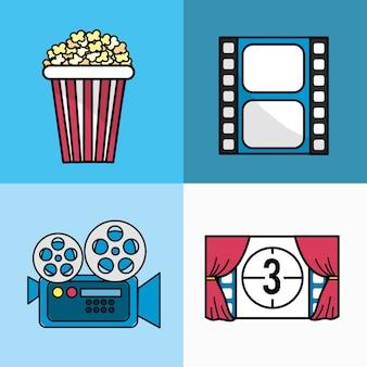 Productie-studio voor productie van cinematografie
