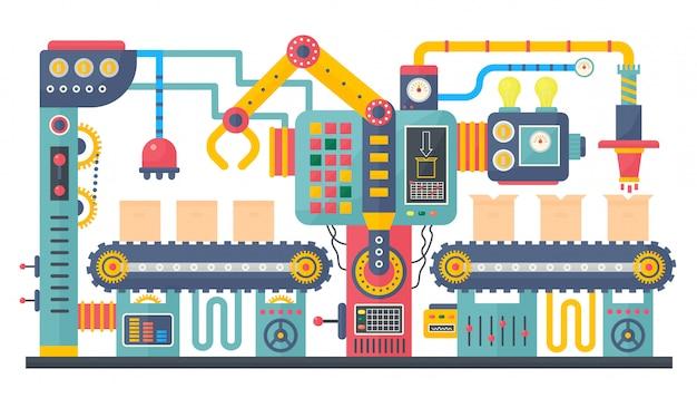 Productie van industriële transportbanden