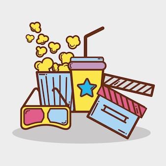 Productiezaal voor cinematografie korte films