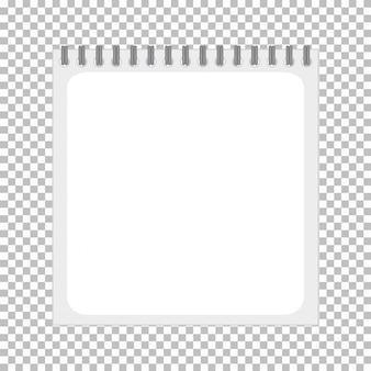 Productsjabloon van een notebook zonder afbeelding