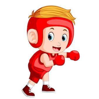 Profesional atletes boksen
