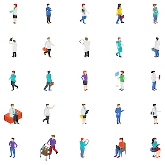 Professional people characters pack