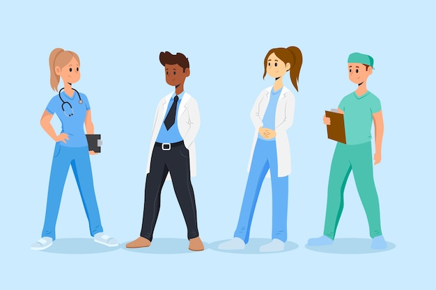 Professioneel gezondheidsteam