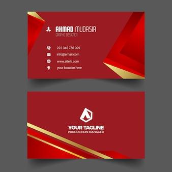 Professioneel visitekaartje