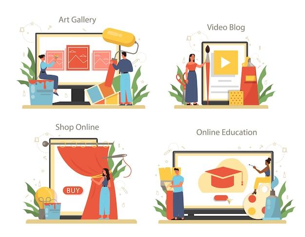 Professionele decorateur online service of platformset