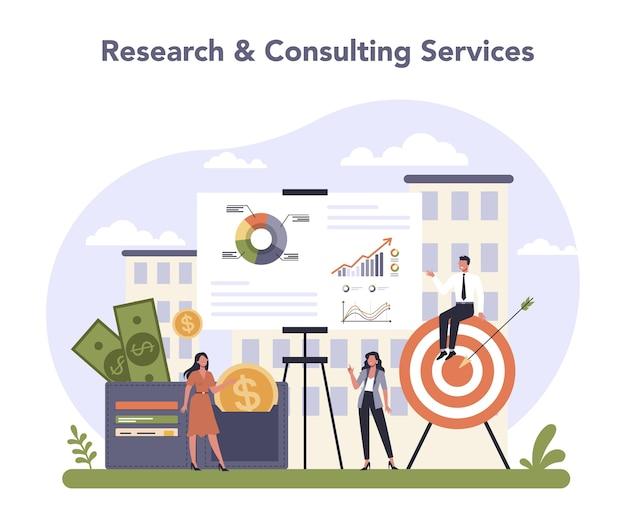 Professionele dienstensector van de economie