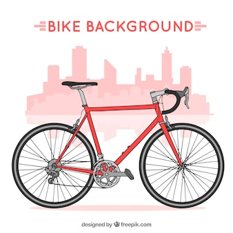 Professionele fiets achtergrond