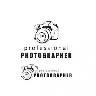 Professionele fotograaf logo ontwerp