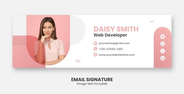 Professionele sjablonen voor e-mailhandtekeningen