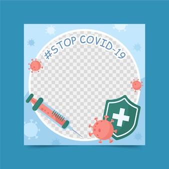 Profielfoto coronavirus facebook frame