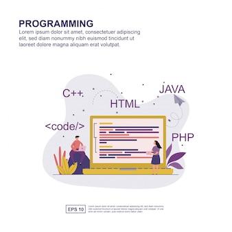Programmering concept