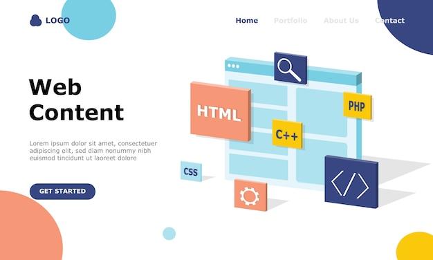 Programmeur en engineering development illustratie concept