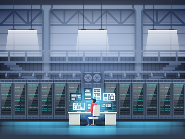 Programmeur in datacenter