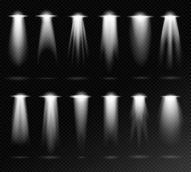 Projectie lichtbronnen op